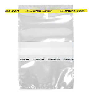 "Whirl-Pak Write-On Sampling Bags, 2-oz., 3""W x 5""L x 2-1/4mil Thick, Box of 500"