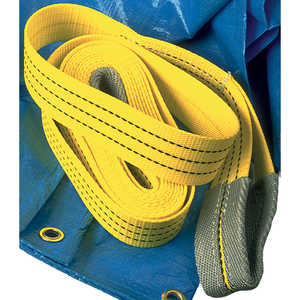 "Spanset® Tow Straps, 2""W x 15'L, 12,000-lb. load capacity"