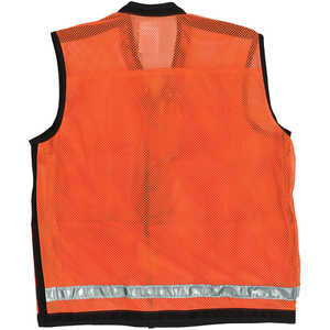 "Ben Meadows High-Visibility Mesh Field Vest with Reflective Stripe, Medium (44-46"")"