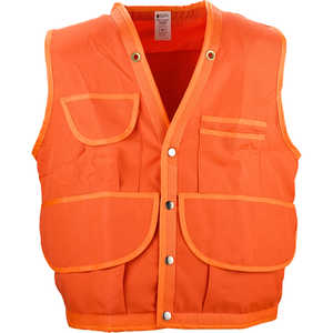 JIM-GEM Pro 10-Pocket Polyester Oxford Cruiser Vest, XX-Large, 46-49, Orange
