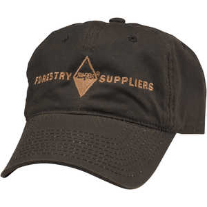 Forestry Suppliers Waxed Canvas Field Cap, Brown