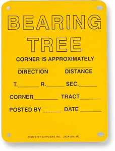 "Aluminum Bearing Tree Poster, 4"" x 6"", Pack of 100"