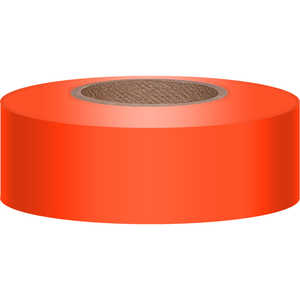 Presco Texas Brand Sunglo Vinyl Flagging, Orange Glo