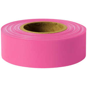 Presco Forest Arctic Vinyl Flagging, Pink Glo