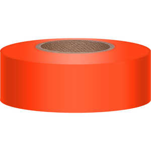 Presco 2 Inch Vinyl Flagging, Orange Glo