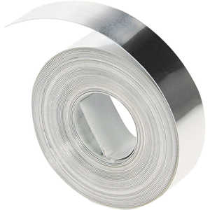 "Dymo Aluminum Tape without Adhesive, 1/2"" x 16'"