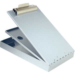 "Saunders Cruiser Mate Sheet Holder, 8-1/2"" x 14"", Silver"
