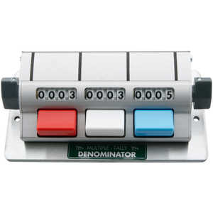 3 Counting Units, Multiple Unit Tally Counters