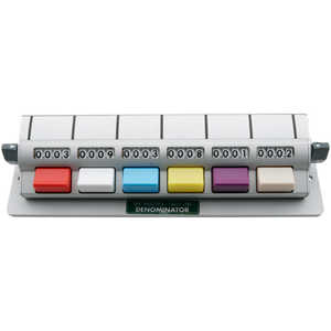 6 Counting Units, Multiple Unit Tally Counters