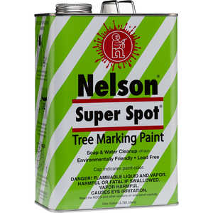 Nelson Super Spot Tree Marking Paint, Blue Gallon
