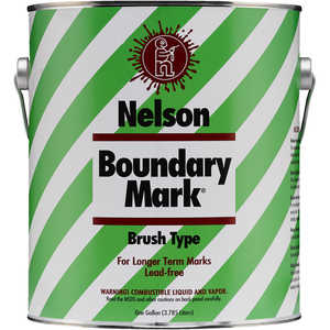 Nelson Boundary Mark Boundary Paint