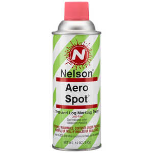 Nelson AeroSpot Spray Paint, Fluorescent Pink