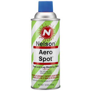 Nelson AeroSpot Spray Paint, Fluorescent Blue