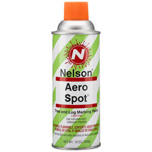 Nelson AeroSpot Spray Paint, Orange