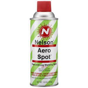 Nelson AeroSpot Spray Paint, Red