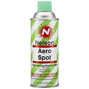 Nelson AeroSpot Spray Paint, Fluorescent Green