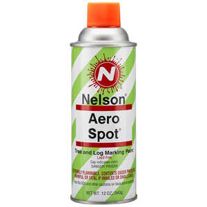 Nelson AeroSpot Spray Paint, Fluorescent Orange