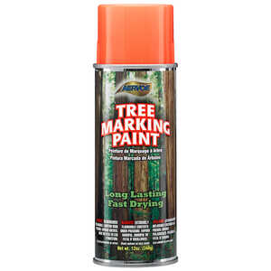 Fluor. Orange Aervoe Lead-Free Aerosol Tree Marking Paint