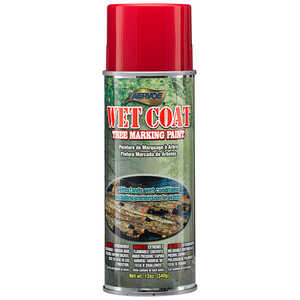 Aervoe Wet Coat Wet Surface Tree Marking Paint, Red
