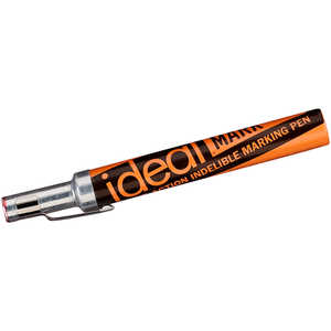 Ideal-Mark Leakproof Indelible Marker, Red