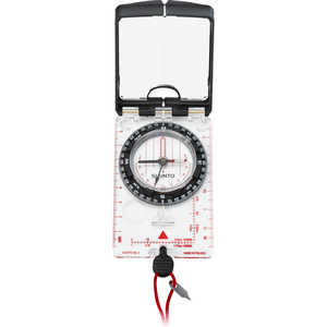 Suunto MC2 Navigator Mirror Sighting Compass with Built-In Clinometer, Quadrant
