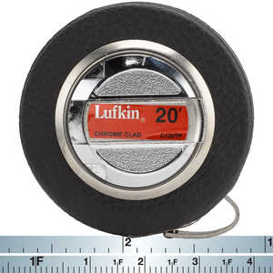 Lufkin English Chrome-Clad Diameter Tape Model C120TP