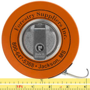 Forestry Suppliers English Fabric Diameter Tape Model 283D/20F