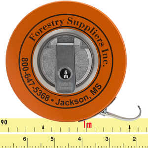 Forestry Suppliers Metric Fabric Diameter Tape Model 283D/5M
