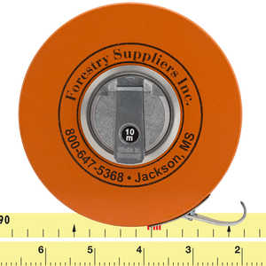 Forestry Suppliers Metric Fabric Diameter Tape Model 283D/10M