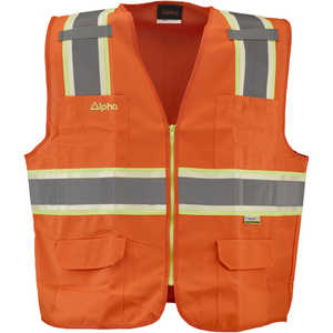 Alpha Workwear Class 2 Surveyor's Vest