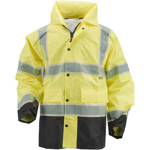 Alpha Workwear Class 3 Rain Jacket