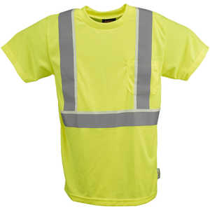 Alpha Workwear Class 2 Birds Eye T-Shirt