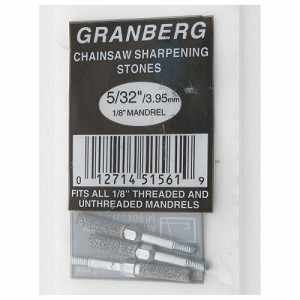 "5/32"" Grinding Wheels for Granberg Precision Chainsaw Chain Sharpener, Pack of 3"