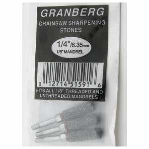 "1/4"" Grinding Wheels Granberg Precision Chainsaw Chain Sharpener, Pack of 3"