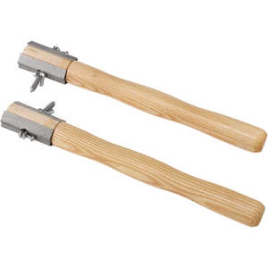 Curtis Two-Man Crosscut Saw Hardwood Handles, Pair