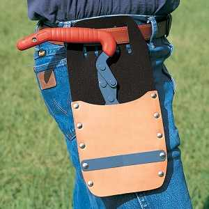 "Leather Holster for Bahco 8"" Log Tongs"