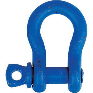 "Anchor Shackle with Screw Pin, 5/8"" Shackle (1-1/16"" Gate)"