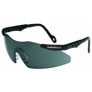 Smith & Wesson Mini-Magnum 3G Series Eyewear, Smoke Lens, Black Frame