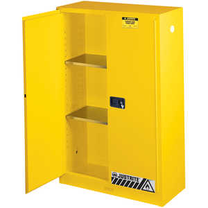 Justrite 45-Gallon Capacity Safety Can Cabinet