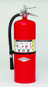 Amerex ABC Stored Pressure Multi-Purpose Dry Chemical Fire Extinguisher, Model Model 423/ 20lb./Hose