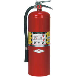 AMEREX ABC Stored Pressure Multi-Purpose Dry Chemical Fire Extinguisher, Model B417TM/2-1/2 lb./Nozzle