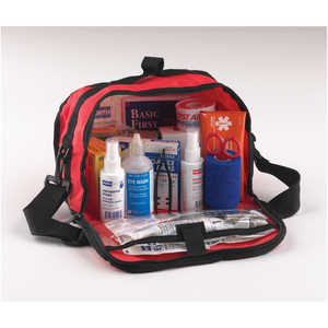 NORTH Redi-Care Large First Aid Kit with CPR Barrier