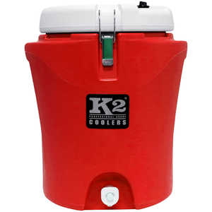 K2 5-Gallon Water Cooler, Red