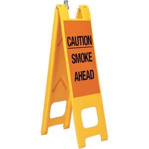 "Warning Narrowcades, ""CAUTION SMOKE AHEAD"""