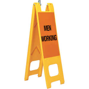 "Warning Narrowcades, ""MEN WORKING"""
