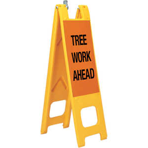"Warning Narrowcades, ""TREE WORK AHEAD"""