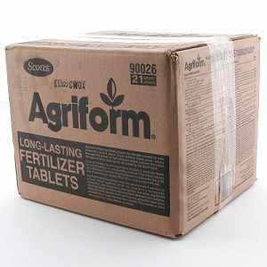 21-Gram, Scotts Agriform Fertilizer Tablets, Carton of 500