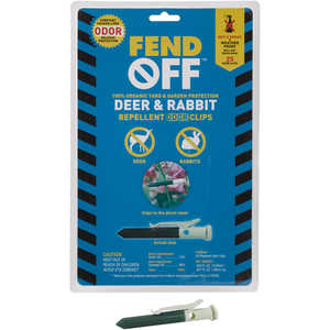Fend Off Deer and Rabbit Repellent Sticks, Pack of 25
