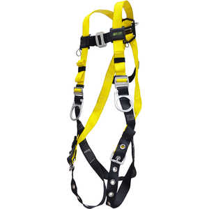 Miller Versalite Full-Body Harness, Three D-Ring