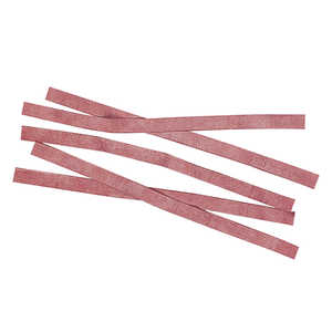 "Red Rubber Budding Strips, 20 Gauge, 3/8"" x 8"", approx. 450 pieces"